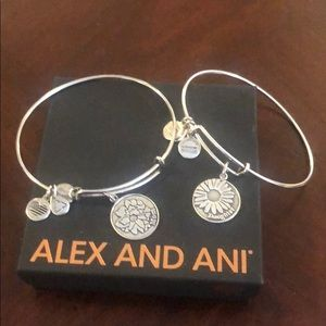 Alex and Ani Mother and Daughter Bracelets